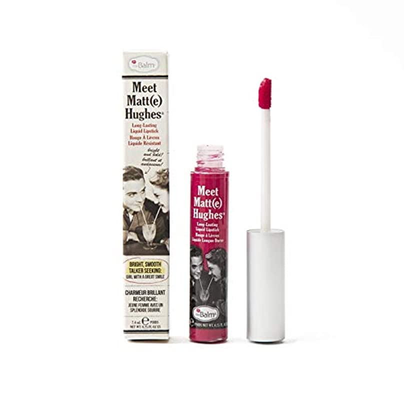 ザバーム Meet Matte Hughes Long Lasting Liquid Lipstick - Sentimental 7.4ml/0.25oz並行輸入品