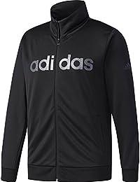 adidas (アディダス) M ESSENTIALS ビッグリニアロゴ ウォームアップジャケット CD9678 DUV65 1806 メンズ