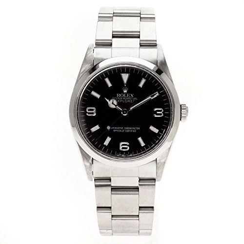 ROLEX(ロレックス) Ref.14270 オイスタパーペチュアル エクスプローラー1 腕時計 ステンレス/SS メンズ (中古)