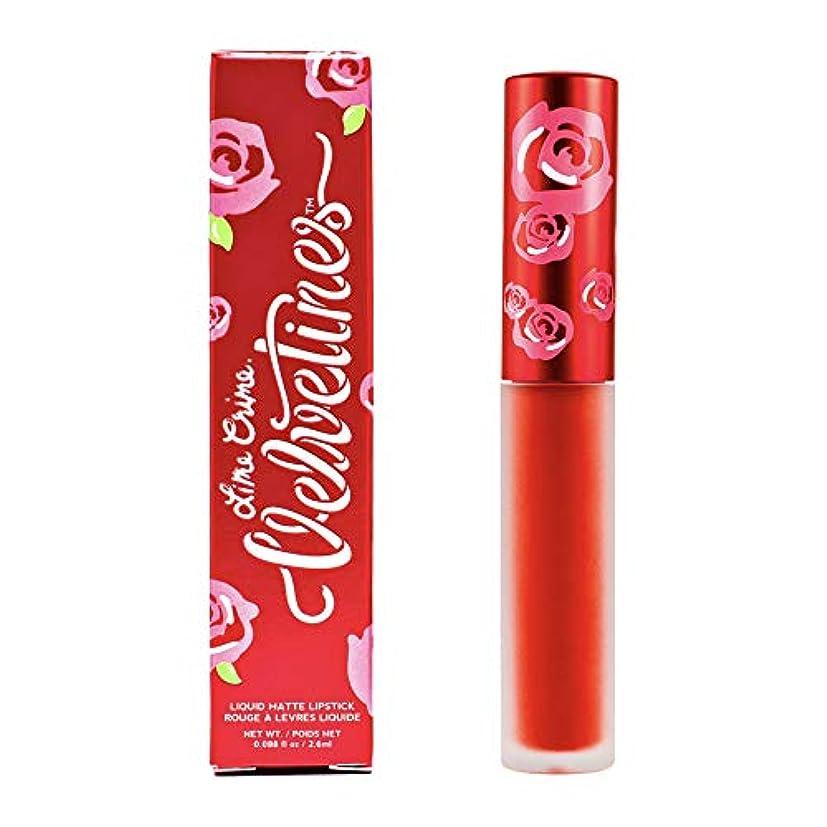 レジ荒らすなかなかLime Crime Velvetines Long Lasting Liquid Matte Lipstick (New Americana)