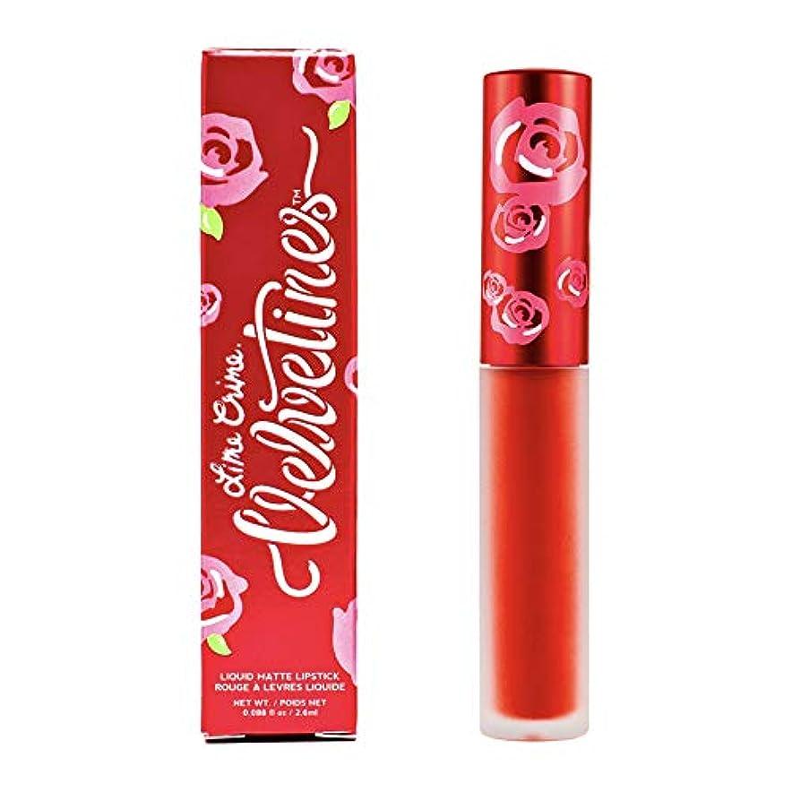 増加する統治可能観察するLime Crime Velvetines Long Lasting Liquid Matte Lipstick (New Americana)