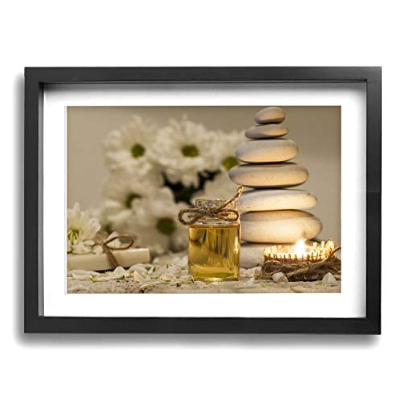 聖歌不幸傾く魅力的な芸術 30x40cm Chamomile Essential Oil Chamomile Flowers キャンバスの壁アート 画像プリント絵画リビングルームの壁の装飾と家の装飾のための現代アートワークハングする...