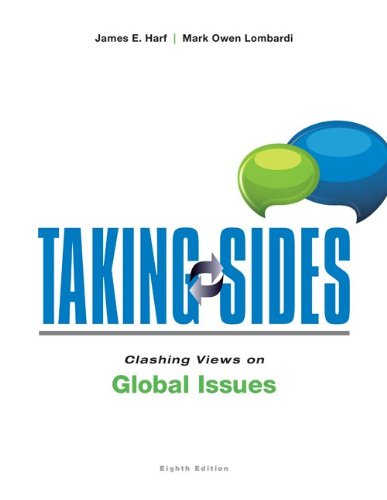 Download Taking Sides: Clashing Views on Global Issues 0078139635
