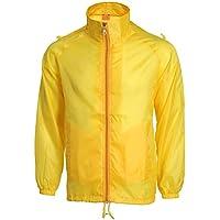 XFentech Mens Waterproof Rain Coat Rainwear Lightweight Jacket Windbreaker
