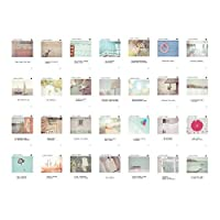30pcsクリエイティブ1セットはがき芸術的美しいはがき、WeChat時代の文芸Love