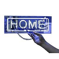ネオンサインネオンライトハロウィンサインはランプ、装飾的な光を導きました。プレゼントアクリルランプボックスネオンサインバーメッセージボード(home)