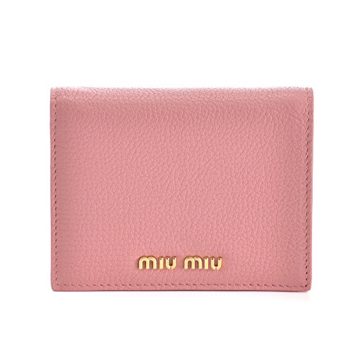 MIUMIU(ミュウミュウ) マドラス ミニ財布 二つ折り財布 5MV204 2BJI 387 [並行輸入品]