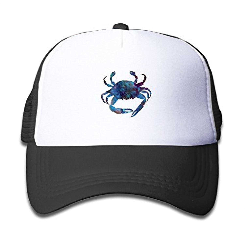 ライトボディカニ 素敵 かわいい おもしろい ファッション 派手 メッシュキャップ 子ども ハット 耐久性 帽子 通学 スポーツ