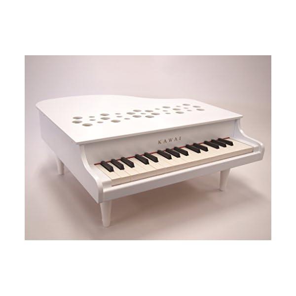KAWAI ミニピアノP-32 ホワイトの紹介画像4