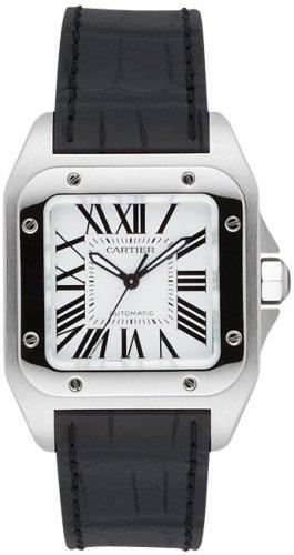 [カルティエ] CARTIER 腕時計 サントス100MM W20106X8 ボーイズ [並行輸入品]