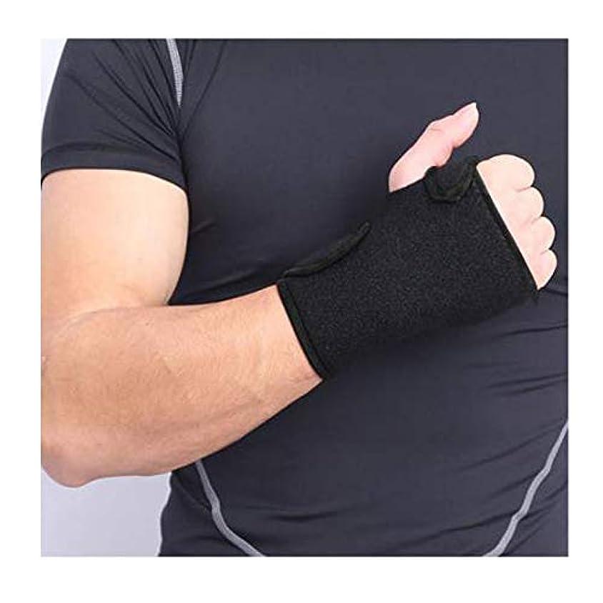 はい受け入れた猟犬弾性手首サポート添え木ブレース、手根管、腱炎および捻tunnel用に設計された医師、手根管用クッション付き軽量スプリント,Lefthand