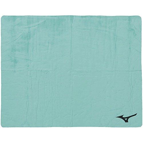 MIZUNO(ミズノ) スイムタオル 高吸水 セームタオル 暑さ対策 水泳 プール N2JY801033 グリーン 大(44×68cm)