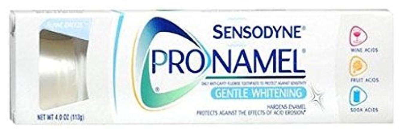終了する強化周波数海外直送肘 Sensodyne Pronamel Toothpaste Whitening, Whitening 4 oz