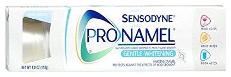 均等に取り扱いビン海外直送肘 Sensodyne Pronamel Toothpaste Whitening, Whitening 4 oz