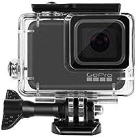 DECADE GoPro HERO 7 Silver White 防水ケース ゴープロ ヒーロー7 ホワイト/シルバー ハウジングケース 防水 防塵 水深45m 水中撮影用
