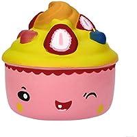 glorrt 9.5 CMキュートケーキSquishy Slow Rising漫画人形クリーム香りつきDecompression Toy FGSG