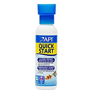 API Quick Start Water Conditioner for Aquariums, 4-Ounce by API