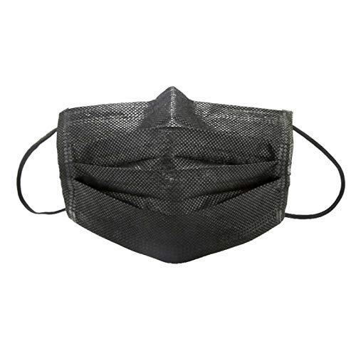 活性炭入りフィットマスク 使い捨て不織布マスク 四層構造 脱...