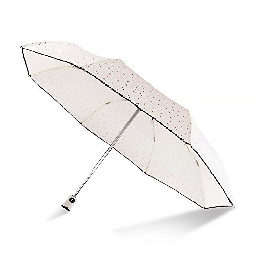 【 a-mumu 】 傘 折りたたみ傘 マリンスタイル 自動開閉 日傘 雨傘 撥水傘 晴雨兼用 収納袋付き (ホワイト)