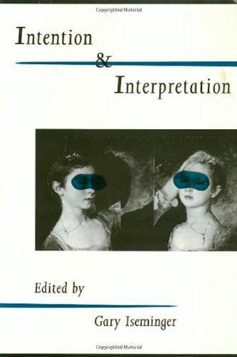 Intention & Interpretation
