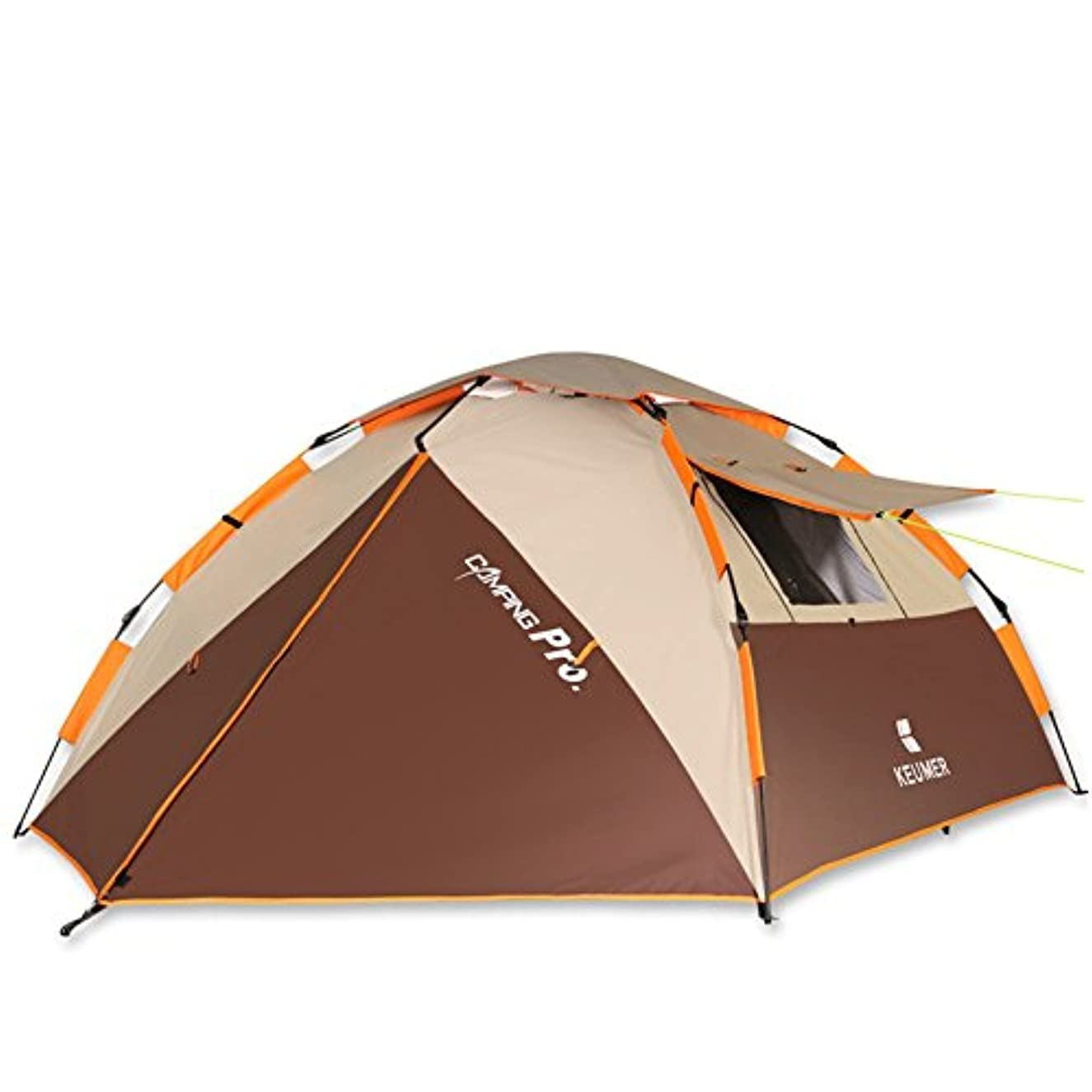 石鹸迷惑経営者Okiiting 屋外の自動テント自動ポップアップキャンプテント防水技術冷却技術風の抵抗強い品質保証2-4人に適して うまく設計された