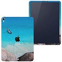 igsticker iPad Pro 12.9 inch インチ 専用 apple アップル アイパッド 2018 第3世代 A1876 A1895 A1983 A2014 全面スキンシール フル 背面 側面 正面 液晶 タブレットケース ステッカー タブレット 保護シール 人気 写真 海 ボート 006468