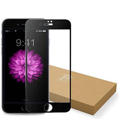 PROTAGE iPhone6sPlus iPhone6Plus アンチグレア ガラスフィルム 非光沢 ガラス フィルム 保護フィルム 3D touch 対応 Apple アイフォン iPhone 6sPlus 6Plus (ブラック)