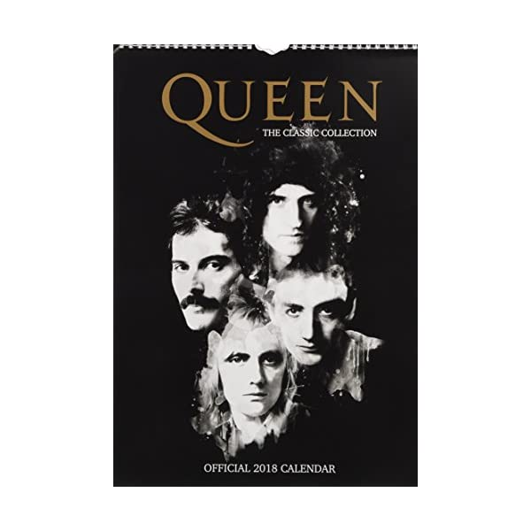 Queen Official 2018 Cale...の商品画像
