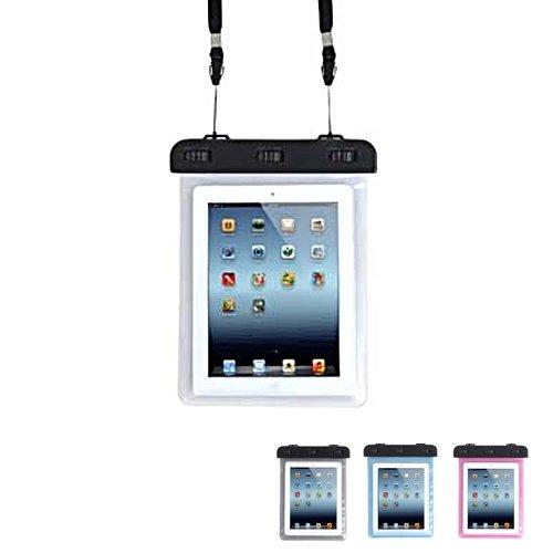 ノーブランド品 防水ケース iPad Mini Nexus7 AQUOS PAD Lenovo IdeaTab など タブレット 用 8インチ まで 対応 防水保護 等級 IPX8 取得 ストラップ付