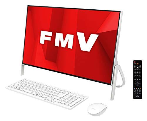 富士通 デスクトップパソコン FMV ESPRIMO FHシリーズ WF1/D1 (Windows 10 Home/23.8型ワイド液晶/Core i7/16GBメモリ/約256GB SSD + 約1TB HDD/Blu-ray Discドライブ/Office Home and Business 2019/ホワイト/TV機能付き)AZ_WF1D1_Z022/富士通WEB MART専用モデル