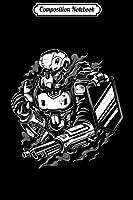 Composition Notebook: Robot Fan War Machine Robot War Robotics Science Student  Journal/Notebook Blank Lined Ruled 6x9 100 Pages