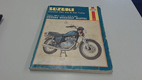Suzuki GS/GSX250, 400 and 450 Twins 1979-82 Owner's Workshop Manual