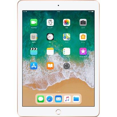 Apple iPad 第6世代 32GB ゴールド Wi-Fi+Cellular SIMフリー MRM02J/A