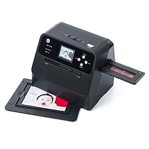 サンワダイレクト フィルム&写真スキャナー 高画質1400万画素 ネガ/ポジ モニタ付 SD保存 USB充電式 400-SCN041