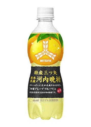 アサヒ飲料 特産三ツ矢 熊本県産河内晩柑 460ml×24本