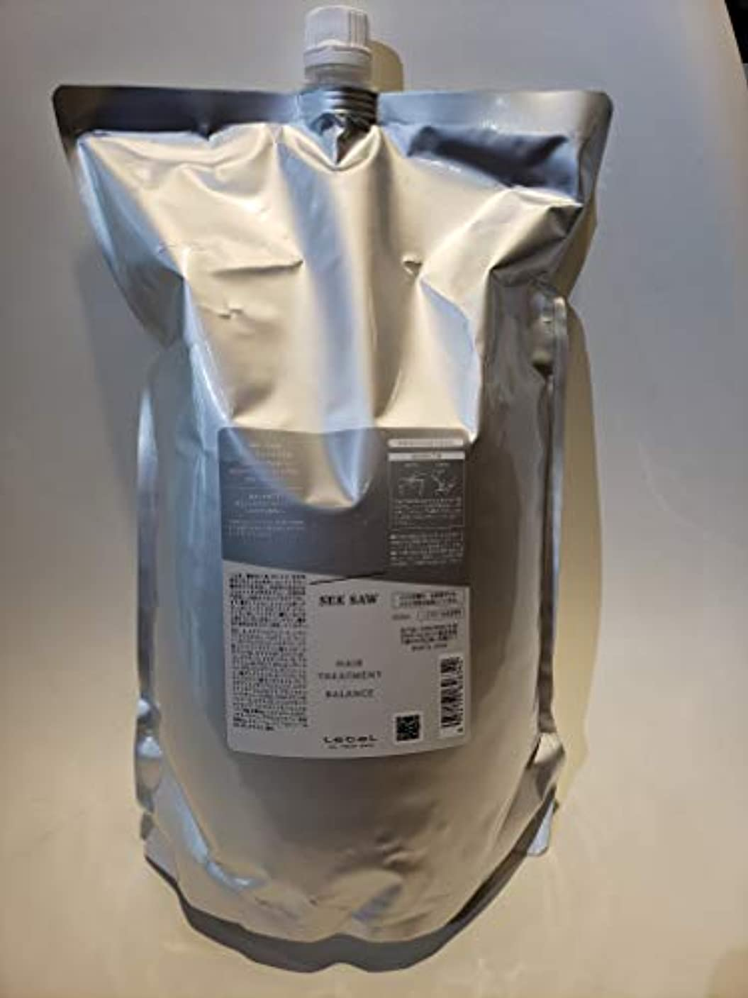 球状収縮電気のシーソー ヘアトリートメントB(バランス)<つめかえ用>(2500ml)