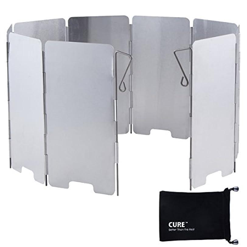 広告する交響曲グローバルCURE(キュア) ウインドスクリーン 風よけ (展開時:135×650mm) 専用袋付 シルバー CURE-WS-S