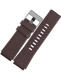 ノーブランド品 腕時計レザーベルト 革 カーフ ディーゼル 取付タイプ LB170-BR28 [並行輸入品]