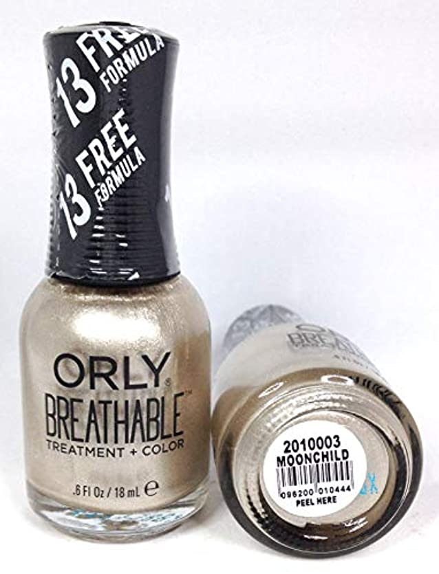 極小男甘味ORLY Breathable Lacquer - Treatment+Color - Moonchild - 18 mL / 0.6 oz