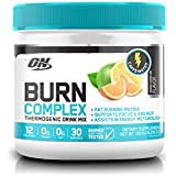 Optimum Nutrition Burn Complex Caffeinated Lemon Lime Thermogenic Powder
