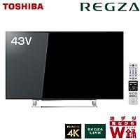 東芝 43V型 4K対応 液晶 テレビ REGZA 43J10X