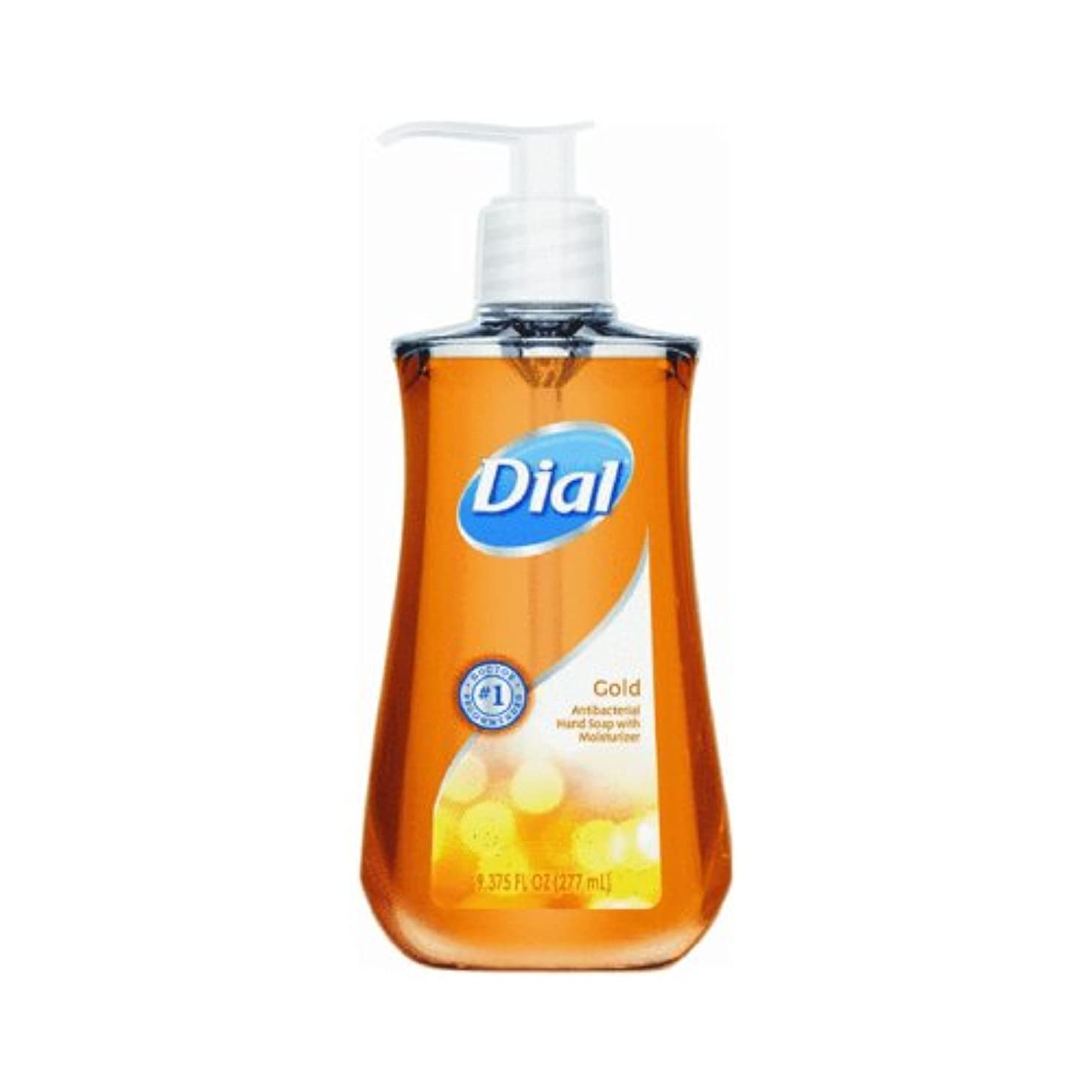 Dial Antibacterial Hand Soap, Gold with Moisturizer 280 ml (Pack of 12) (並行輸入品)