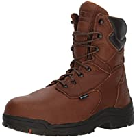 "Timberland PRO Men's 47019 Titan 8"" Waterproof Safety Toe Boot"