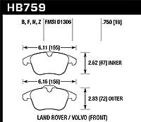 Hawk HB759B.750 HPS 5.0 Front Brake Pad [並行輸入品]