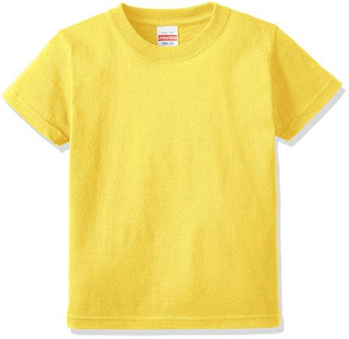 (ユナイテッドアスレ)UnitedAthle 5.6オンス ハイクオリティー Tシャツ 500102 [キッズ] 021 イエロー 100