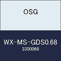 OSG 超硬ドリル WX-MS-GDS0.68 商品番号 3300068