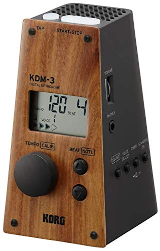 KORG メトロノーム KDM-3-WDBK ウッド・フェイス・モデル