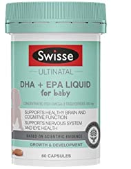 Swisse Ultinatal DHA + EPA 液体 赤ちゃん用 60カプセル [豪州直送品] [並行輸入品]