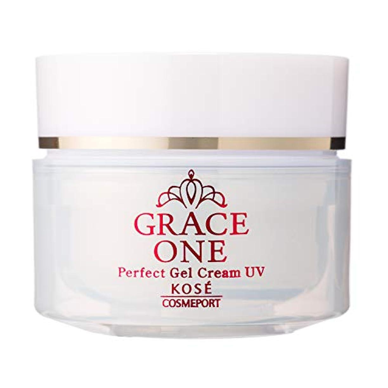 美容師最小化する主観的KOSE コーセー グレイスワン オールインワン 濃潤リペアジェルUV (SPF50+ PA++++) 100g