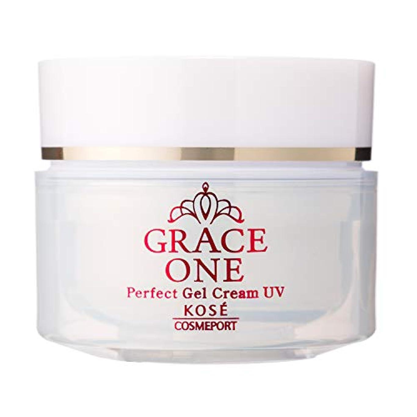 増強する特殊できたKOSE コーセー グレイスワン オールインワン 濃潤リペアジェルUV (SPF50+ PA++++) 100g
